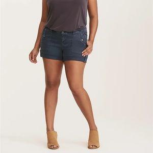 Torrid Navy Blue Shorts size 24